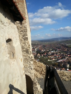 View from Rupea, Transylvania
