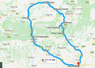 transylvania 3-day tour