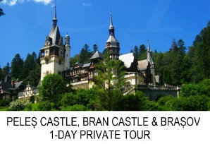Peles Castle, Bran Castle, Brasov 1-day private tour
