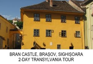 Transylvania 2-day private tour Bran Castle Brasov Sighisoara