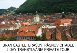 Transylvania 2-day private Tour Peles Bran Castle Brasov Rasnov