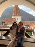 Thai guests at Bran Castle, Transylvania, March 2019