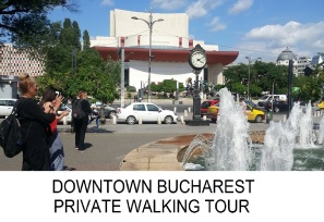 Central Bucharest private walking tour