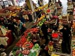 At farmers' market,Bucharest