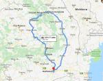 Itineray Transylvania &Bukovina