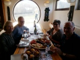 Lunch during Dealu Mare winery tour
