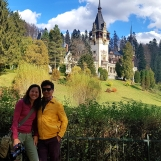 Beautiful day at Peles Castle, Nov 2019