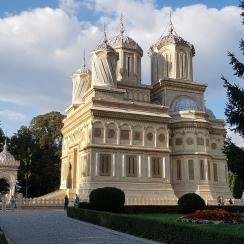 Magnificent Curtea de Arges Monastery, Romania