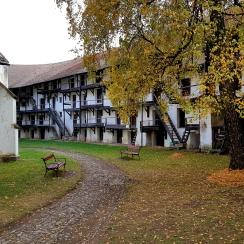 Inside Prejmer Citadel, Transylvania