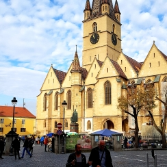 The Evangelical Cathedral of Sibiu, Transylvania