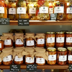 Traditional Romanian preserves