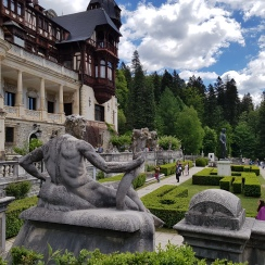 Summer at Peles Castle, Romania