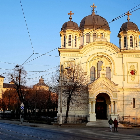 St Nicolae Vladica Church, central Bucharest