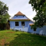 Traditional Saxon house in the village of Viscri, Transylvania