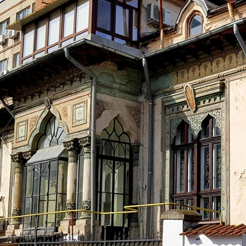 Ionescu-Gion House central Bucharest