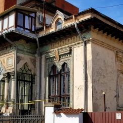 Neo-romanian style house architect Ion Socolescu