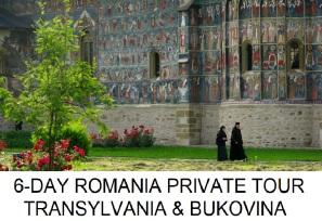 Romania 6-day tour Transylvania Bukovina