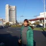 Ukrainian guest visiting Bucharest