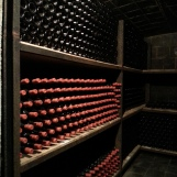 Wine cellars at Garboiu winery, Romania