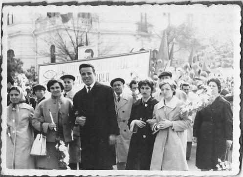 May Day parade Bucharest communist era 1963